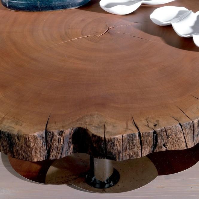 Стол из спилов дерева чем заполнить - Рецепты самостоятельного изготовления незамерзайки
